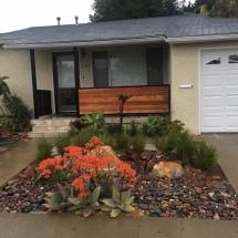 San Diego Succulent Garden Installation